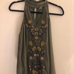Francescas Olive Green Dress